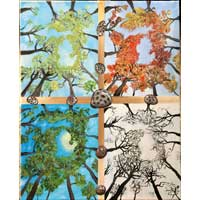 Michigan's 4 Seasons Print