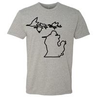 Michigan Geese Crewneck Tshirt