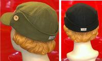 Michigan Mittens Green Wool Flap Caps - Back