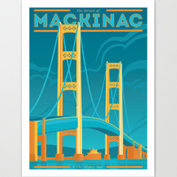 The Mighty Mac Giclee Art Print