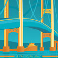 The Mighty Mac Giclee Art Print Enlarged