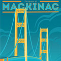 The Mighty Mac Giclee Art Print - Enlarged