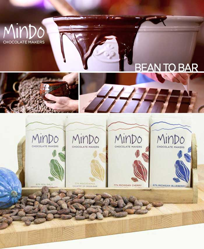 Pure 77% Chocolate Bar Mindo Chocolate Makers