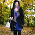 Sparkle Black & Pink Reversible Coat