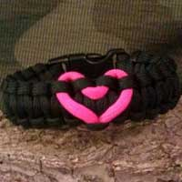 Carrying Your Love with Me Paracord Bracelets