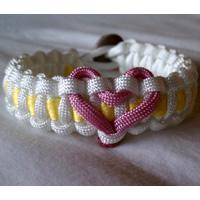 Heart Paracord Bracelets
