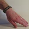 Parachute Cord Bracelet on Wrist