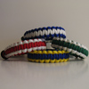 School Colors Parachute Cord Bracelets