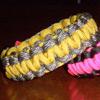 Neon Colors Parachute Cord Bracelets