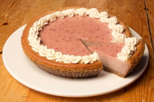 Peteets Cheesecakes - Raspberry Cheesecake
