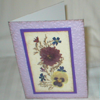 Greeting Cards with Michigan Flowers