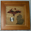 Petoskey Stone Plaque