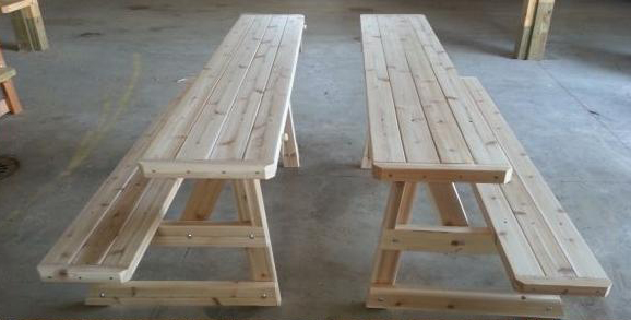 Benches For Picnic Tables ART Wheelchair Accessible Tables Sharp - Picnic table michigan