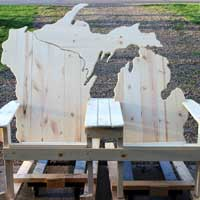 Lake Michigan Bench