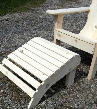 Foot Stool for Adirondack Chair
