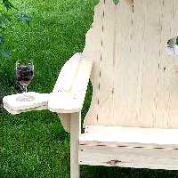 Michigan Adirondack Chair Cup Holder
