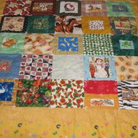 ABC Patchwork Baby Quilt