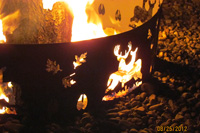 Deer Fire Pit Ring