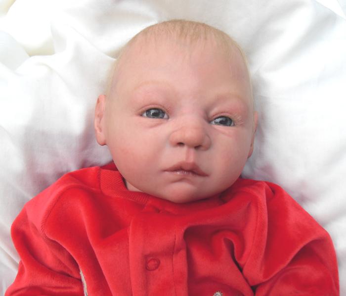 Awake Blonde Hair Baby Boy Reborn Doll Reborn Dolls