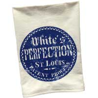 Vintage Graphic White's Perfection Towel