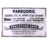 Vintage Pharmacy Paregoric Magnet