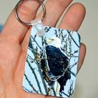 Michigan Photo Key Ring
