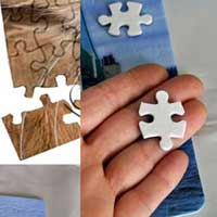 Hard Felted Fabric Puzzles