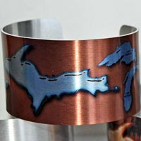 Michigan Metal Cuff