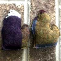 Repurposed Wool Michigan Hand Warmers