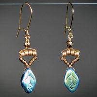 Earrings by Robin Goodfellow Jewelry