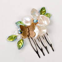 Hair Combs by Robin Goodfellow Jewelry