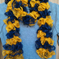 Team Spirit Ruffle Scarf