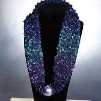 Designer Scarf Necklaces