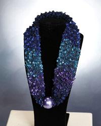 Designer Scarf Necklace