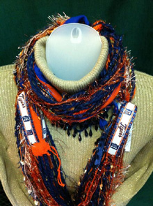 Collegiate & Team Inspired Scarves of Westwood