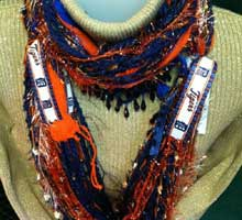 Scarves of Westwood Detroit Tigers
