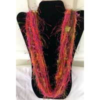La Petite Scarf - Red, Pink, Orange