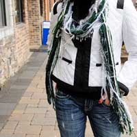 Scarves of Westwood Michigan State