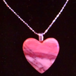 Kona Dolomite Heart Necklace