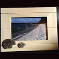 Petoskey Stone Bear Picture Frame
