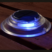 Solar Dock & Deck Lights - Blue