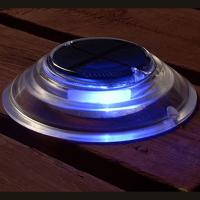 Solar Dock & Deck Lights - Blue