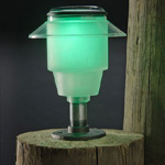 Post Solar Lights - Blue