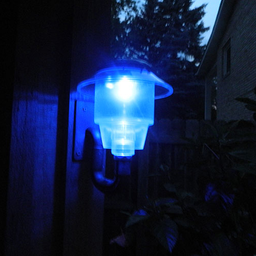 Solar Lights To Hang On Fence: Simple Glow Solar Lights