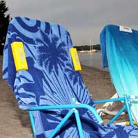 The Slip Clip - Attach Beach Towel to Chair Sides or Top