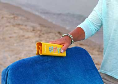 The Slip Clip - Attach Beach Towel to Chair