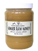 Ginger Raw Honey