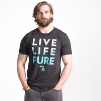 Live Life Pure Men's T-shirt