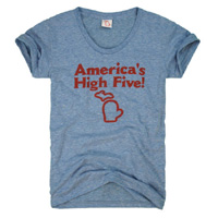 America's High Five Tshirt – Womens'