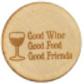 WineO Wine Stopper - Good Wine, Good Food, Good Friends